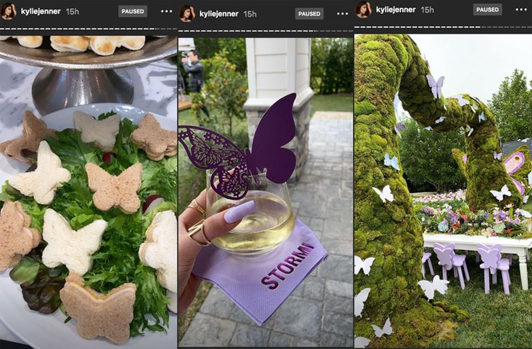 Kylie Jenner Threw Stormi a Fairy-Garden Party Full of Butterflies