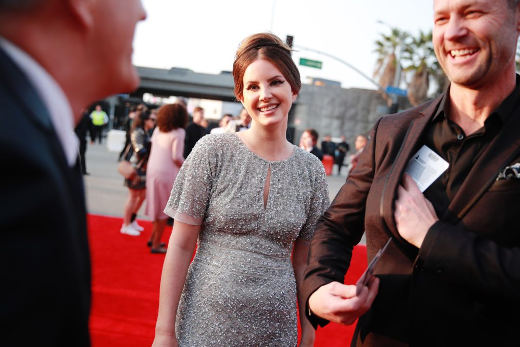 Lana Del Rey and Sean Larkin attend the 62nd Annual GRAMMY Awards January 26, 2020