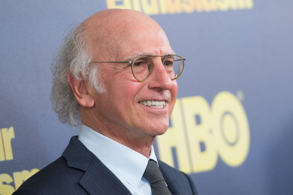 'Seinfeld' creator Larry David hated working at 'SNL' -- Larry David smiles during a press event