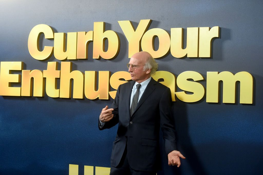 Larry David attends the Curb Your Enthusiasm Season 9 premiere