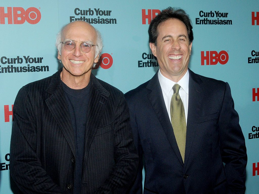 Larry David and Jerry Seinfeld of Seinfeld