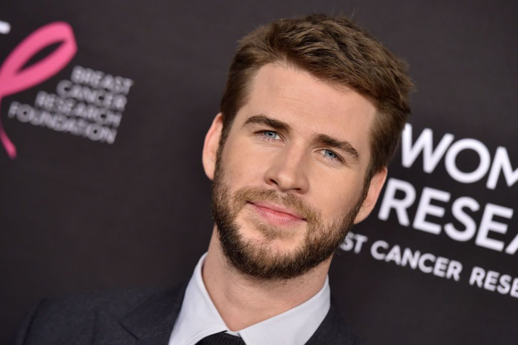 Liam Hemsworth attends The Women's Cancer Research Fund's event.