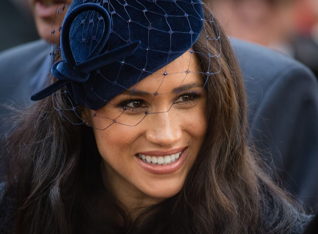 Meghan, Duchess of Sussex attends the 91st Field of Remembrance at Westminster Abbey.