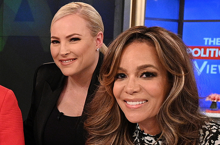 Meghan McCain and Sunny Hostin