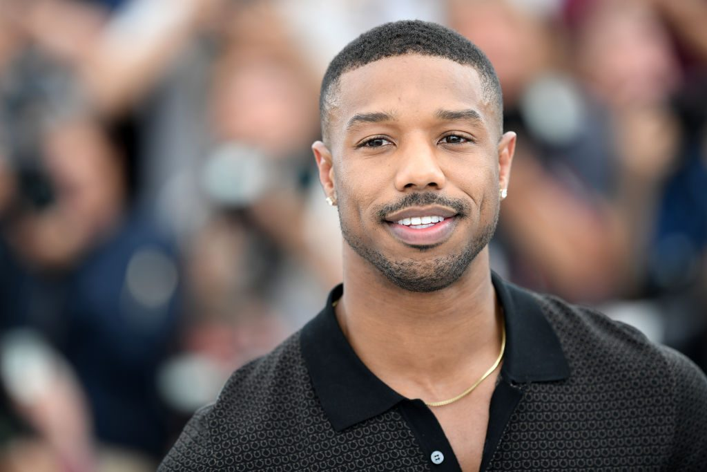 "Michael B. Jordan attends the photocall for ""Farenheit 451"" during the 71st annual Cannes Film Festival."