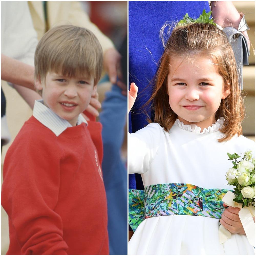 Prince William and Princess Charlotte