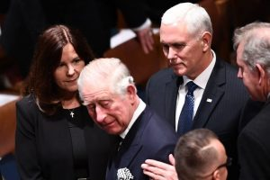 Did Prince Charles Really Snub Mike Pence at the World Holocaust Forum?