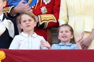 The 1 Subtle Detail Royal Fans Noticed About Prince George in the New Family Portrait With Queen Elizabeth