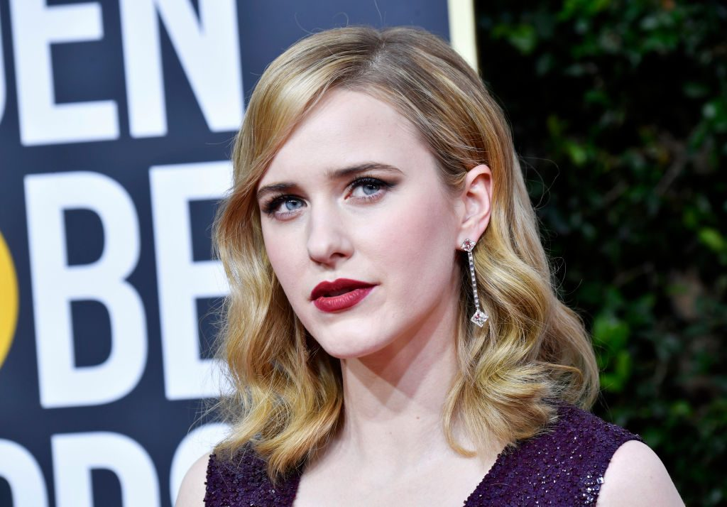 Rachel Brosnahan at the 77th Annual Golden Globe Awards on January 5, 2020