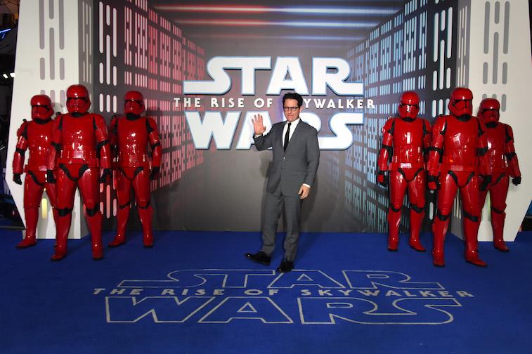 J.J Abrams at the 'Star Wars' premiere