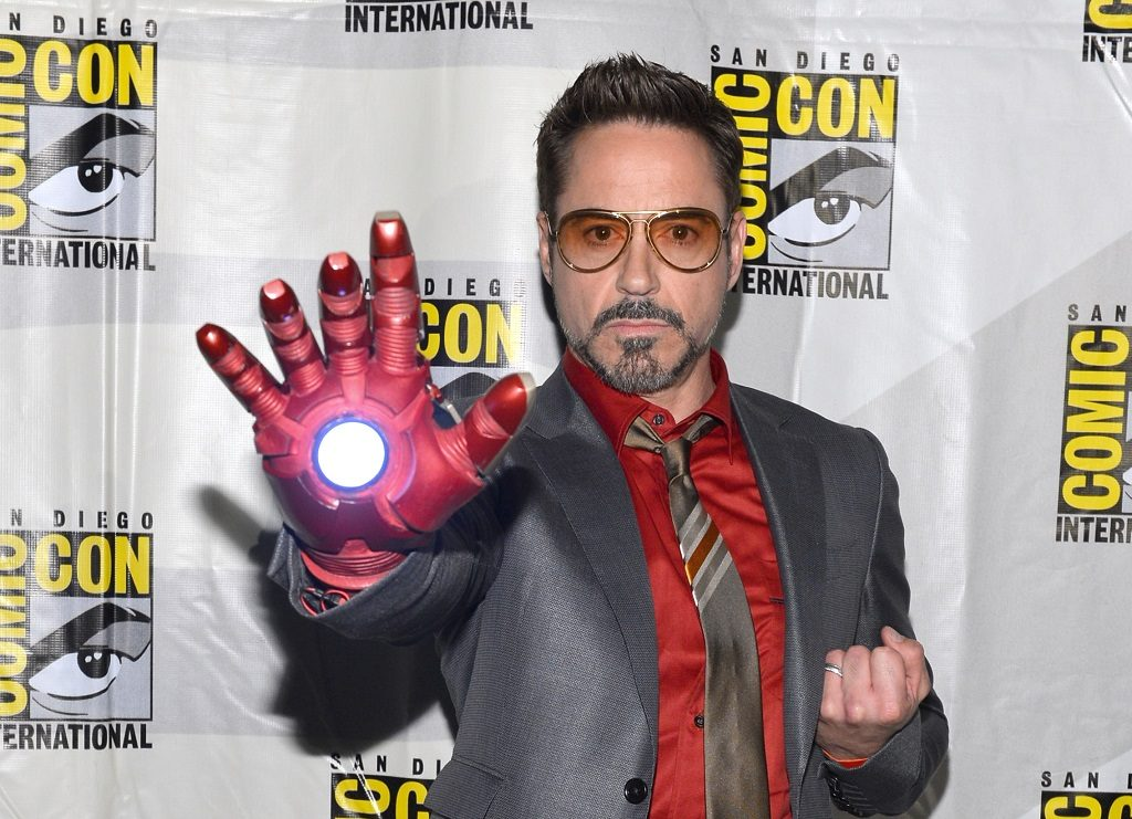 Robert Downey Jr. Comic-Con 2012