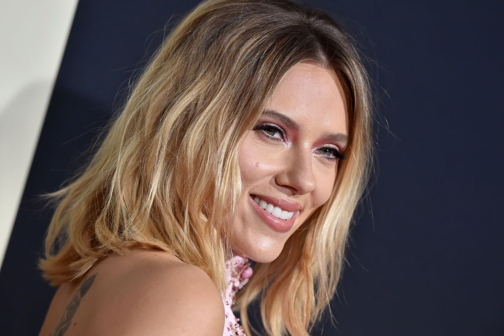 Scarlett Johansson at the premiere of 'Jojo Rabbit