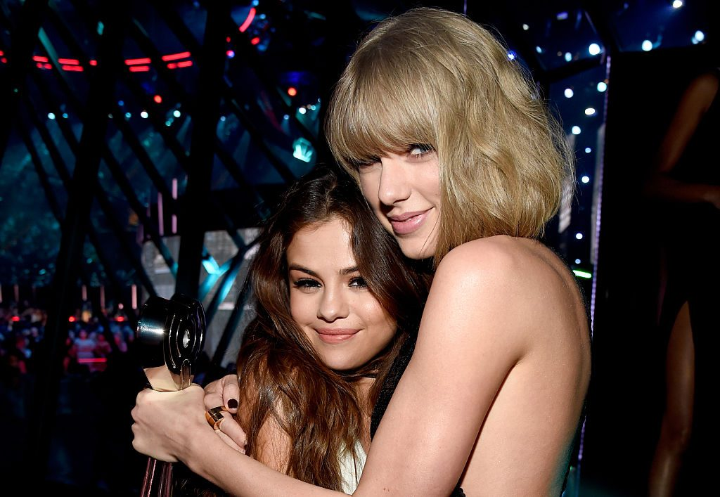 Selena Gomez and Taylor Swift in 2016