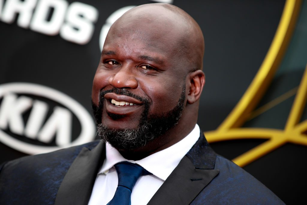 Shaquille O'Neal attends the 2019 NBA Awards.
