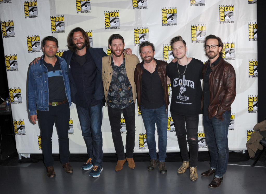 'Supernatural' cast at 2019 Comic-Con