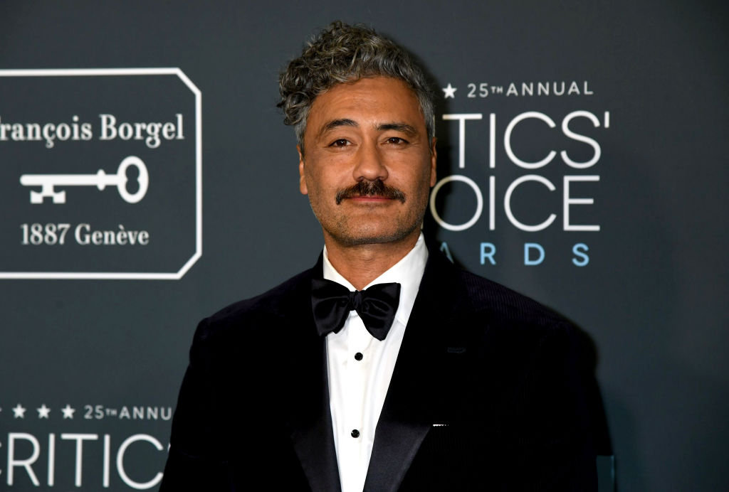Taika Waititi on the red carpet for the 25th Annual Critics' Choice Awards on January 12, 2020.