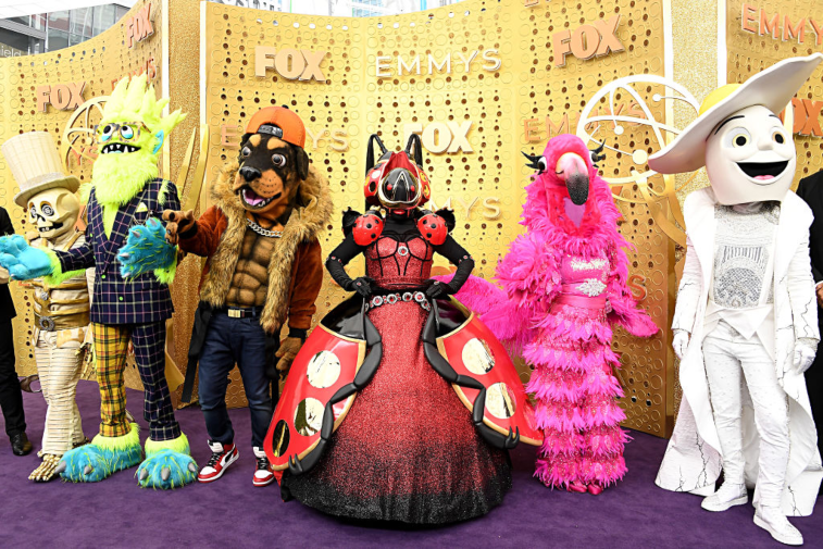 'The Masked Singer' mascots at Emmys