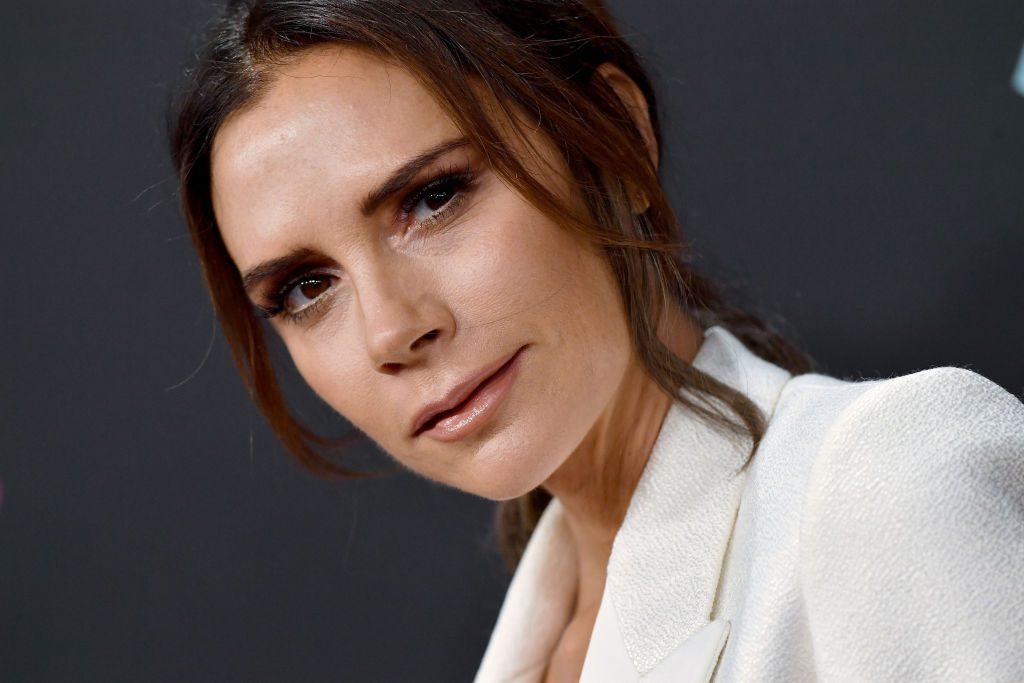 Victoria Beckham attends the People's Choice Awards 2018.