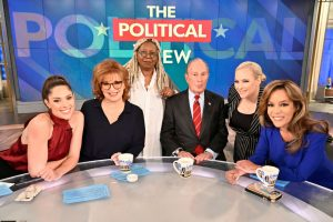 'The View': Whoopi Goldberg Toasts Abby Huntsman Goodbye A Day Early