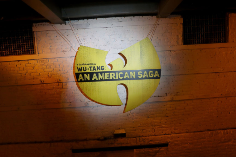 Signage for 'Wu-Tang: An American Saga'