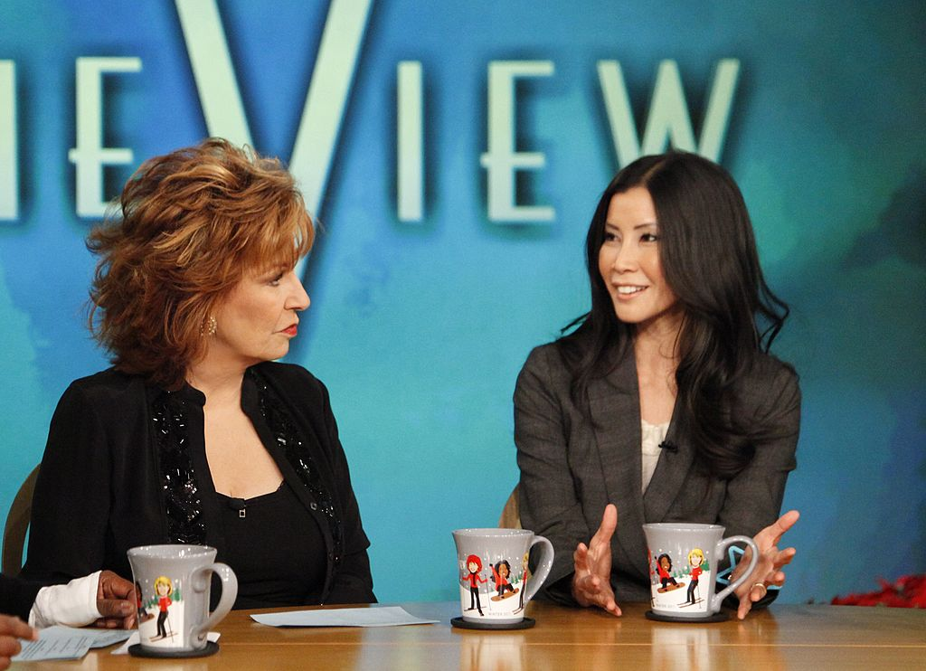 """Joy Behar and Lisa Ling of """"The View"""""""