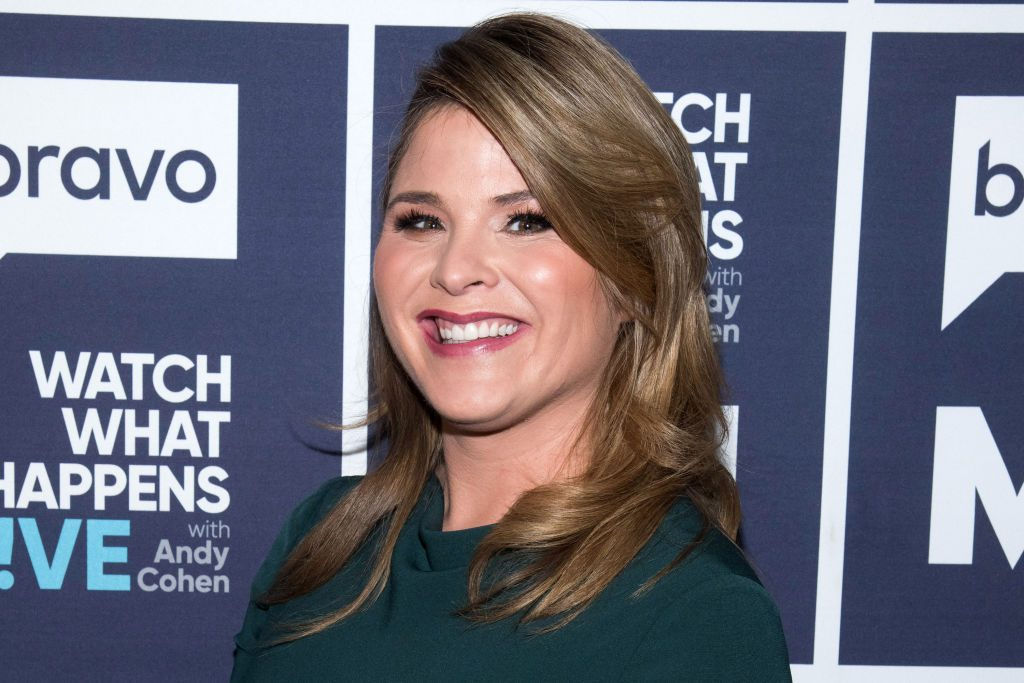 """Jenna Bush Hager of the """"Today Show"""" gets ready to appear on Bravo TV's """"Watch What Happens Live"""""""