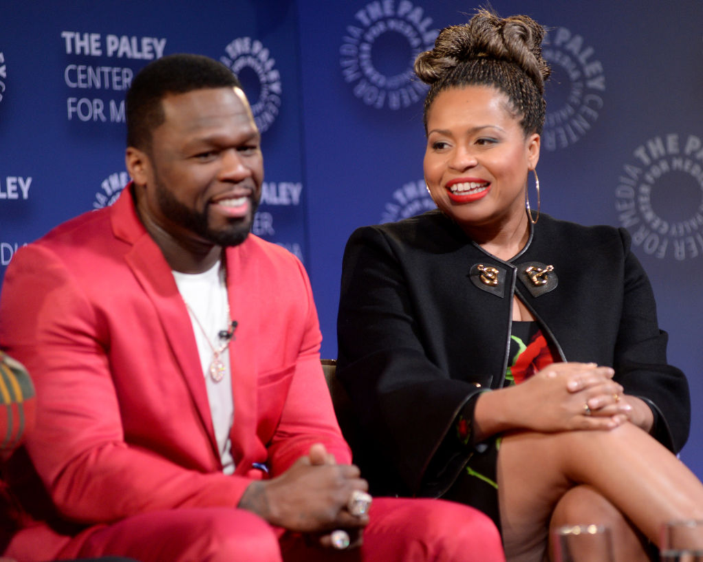 Curtis '50 Cent' Jackson and Courtney Kemp