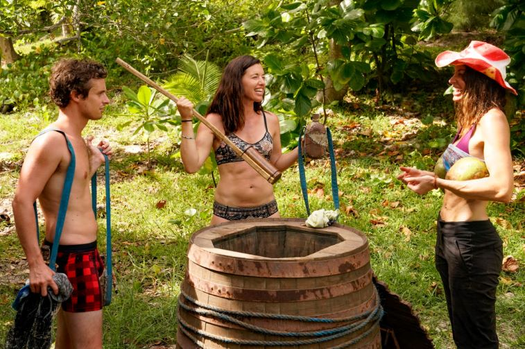 Adam Klein, Parvati Shallow and Danni Boatwright