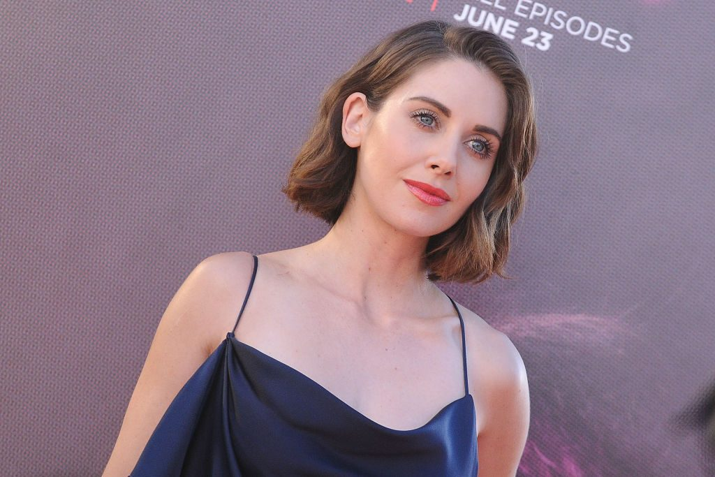 Alison Brie at the 'GLOW' premiere