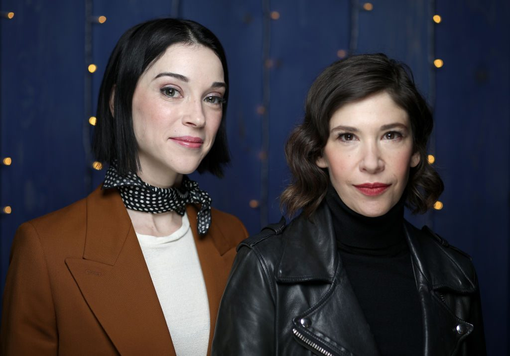 Annie Clark and Carrie Brownstein