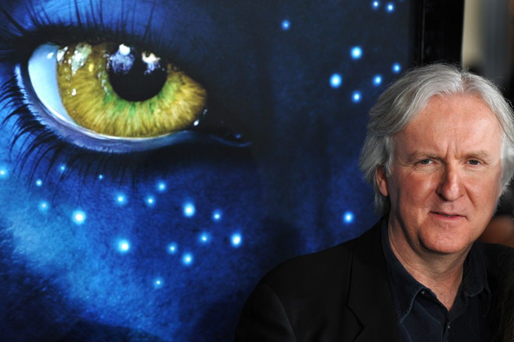 Director James Cameron arrives at the premiere of 'Avatar'