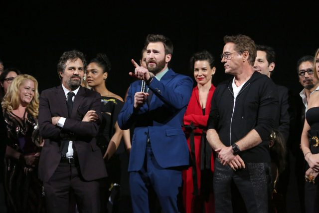 The cast of 'Avengers: Endgame' at the world premiere