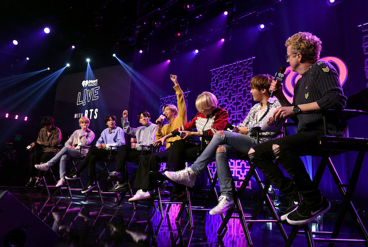 The members of BTS