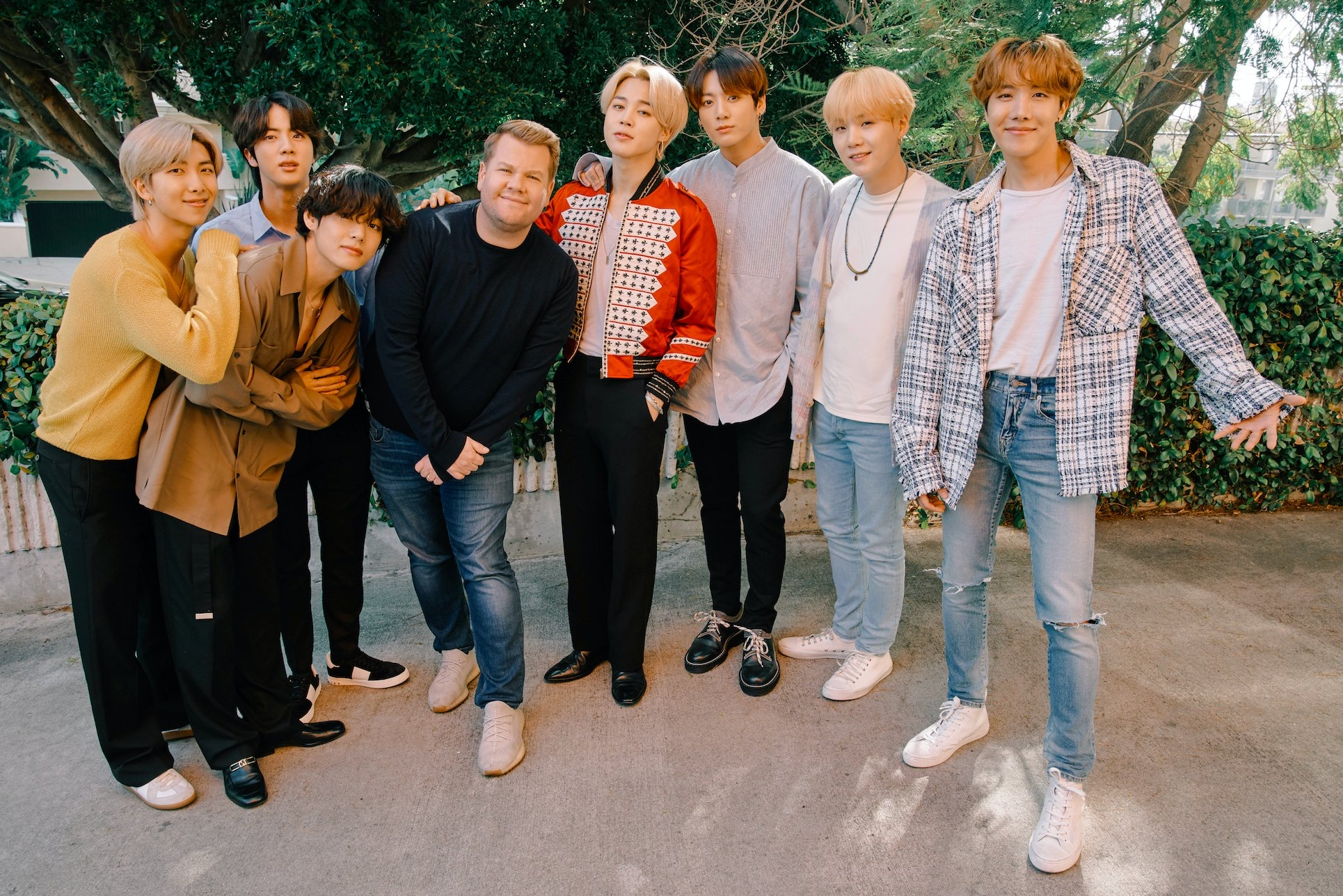 BTS and James Corden Team Up for an Epic Carpool Karaoke