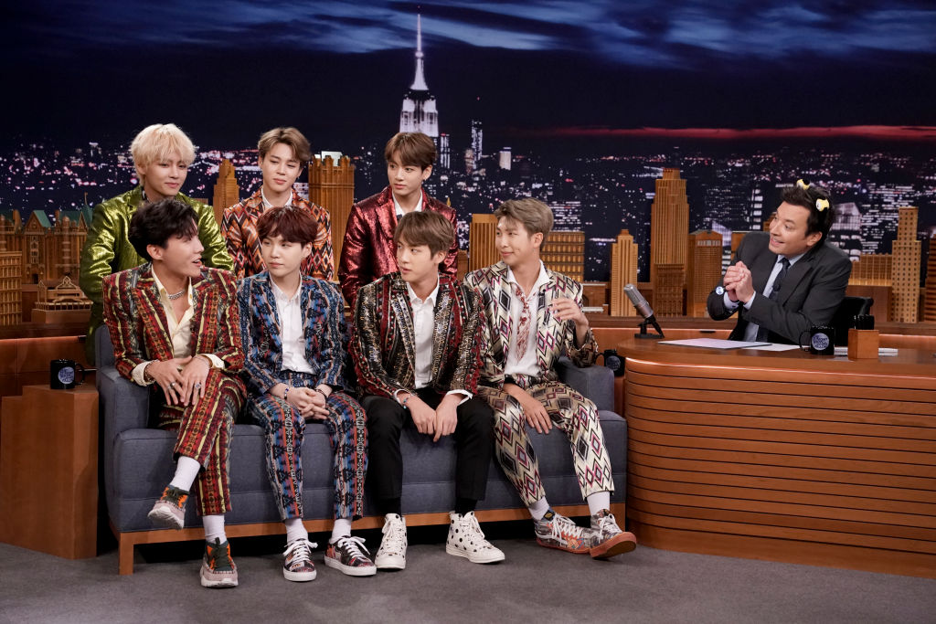 BTS Jimmy Fallon