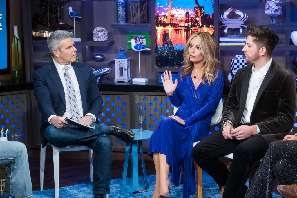 Andy Cohen, Kate Chastain, Josiah Carter