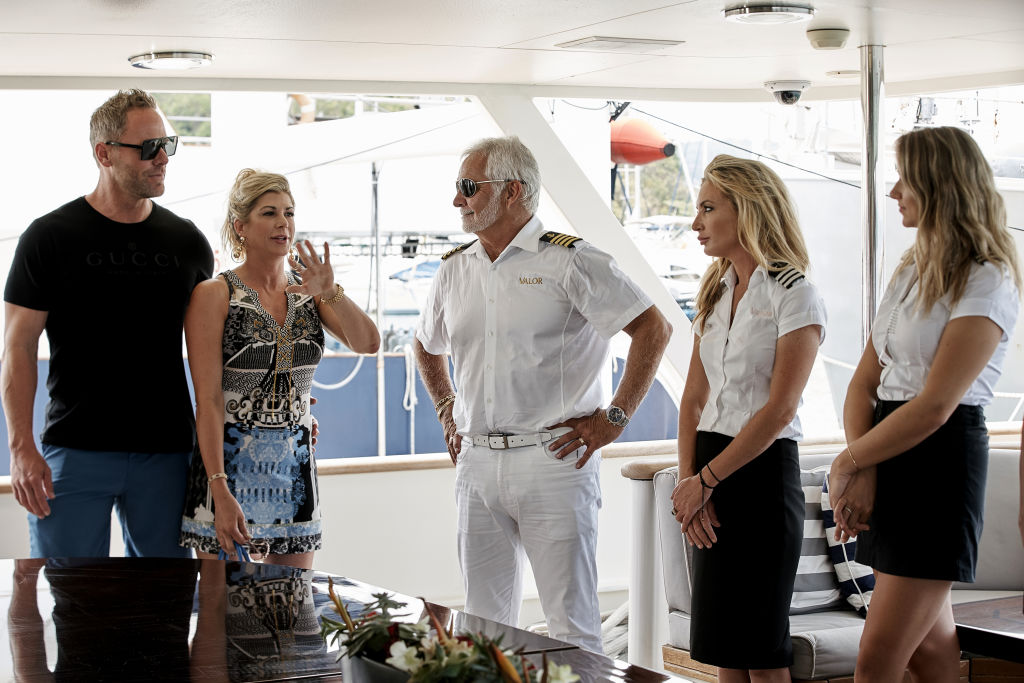 Andy Bohn, Alexis Bellino, Captain Lee Rosbach, Kate Chastain, Courtney Skippon