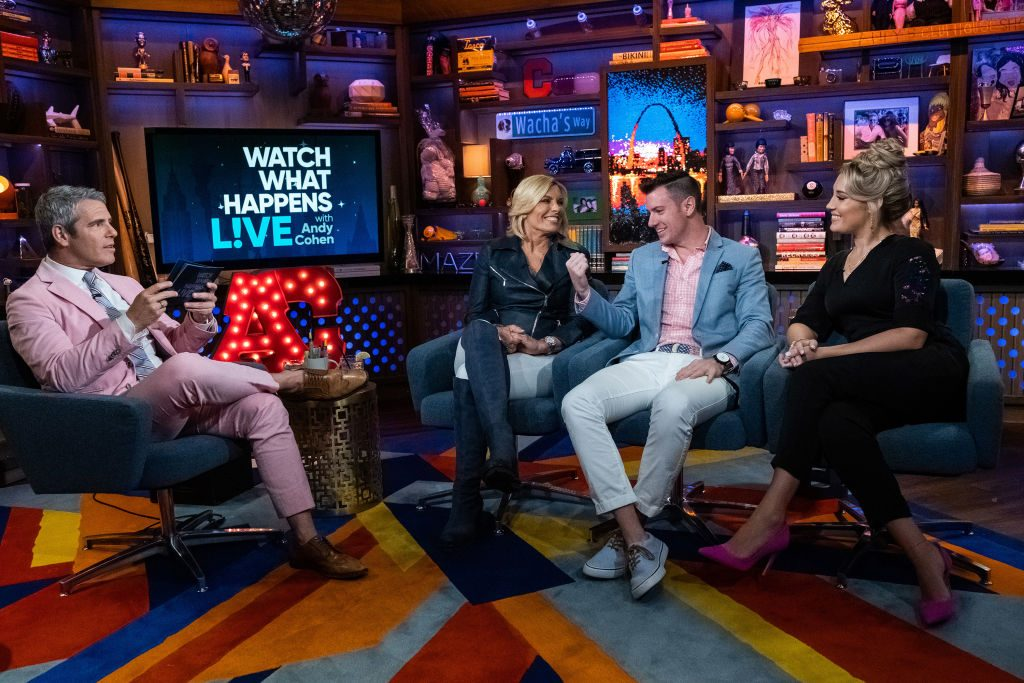 Andy Cohen, Captain Sandy Yawn, Colin Macy-O'Toole, June Foster