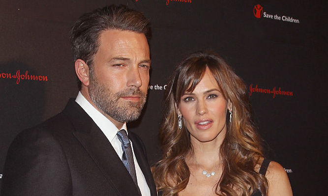 Ben Affleck and Jennifer Garner on the red carpet in November 2014