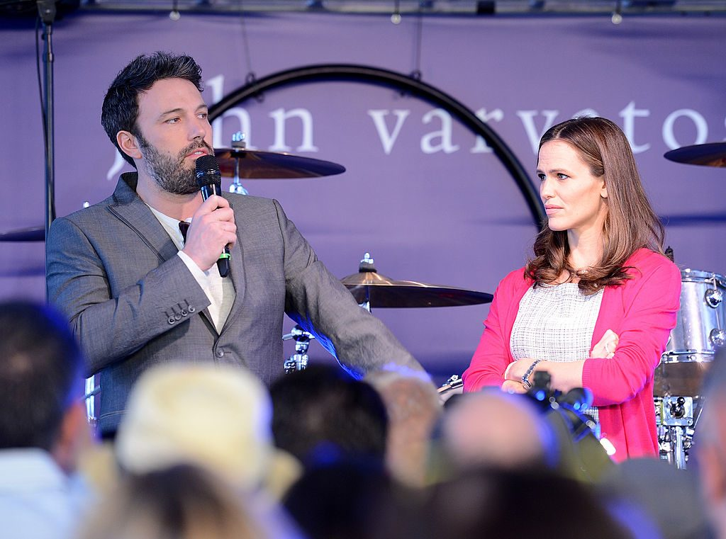 Ben Affleck and Jennifer Garner at an event in 2013