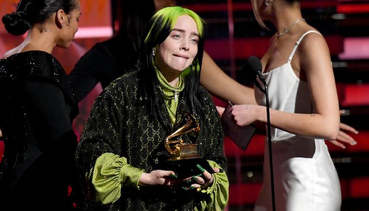 Billie Eilish at the Grammys