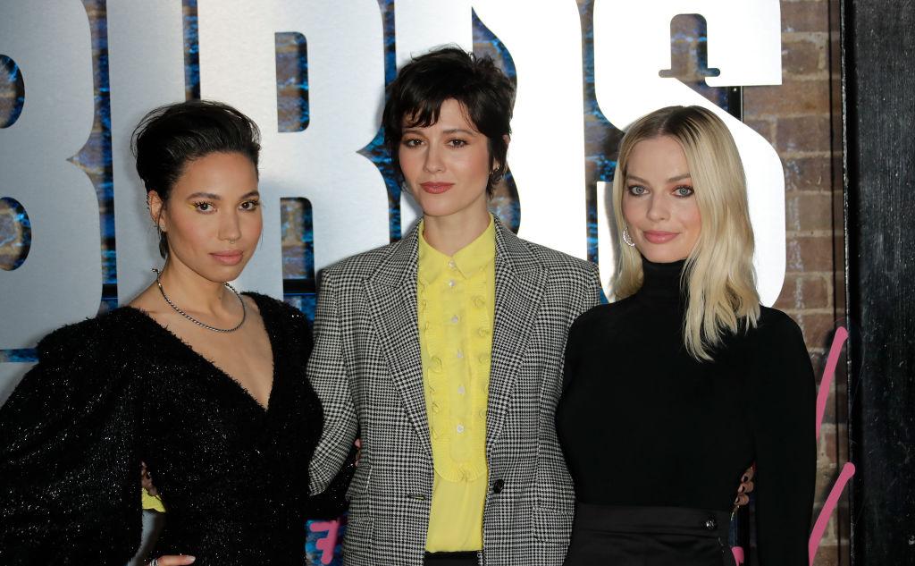 Jurnee Smollett-Bell, Mary Elizabeth Winstead, and Margot Robbie of 'Birds Of Prey'