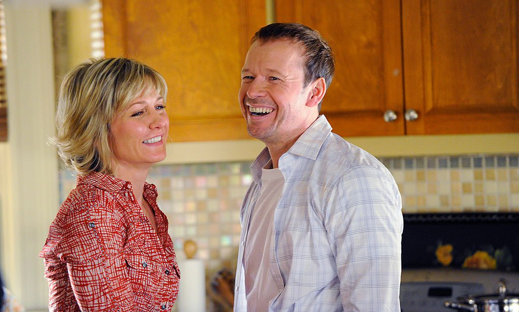 Linda (Amy Carlson) and Danny (Donnie Wahlberg) on 'Blue Bloods'