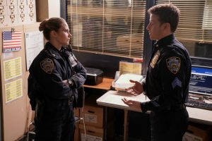 'Blue Bloods': Edie Falco Weighs in on Eddie and Jamie Working Together After Getting Married