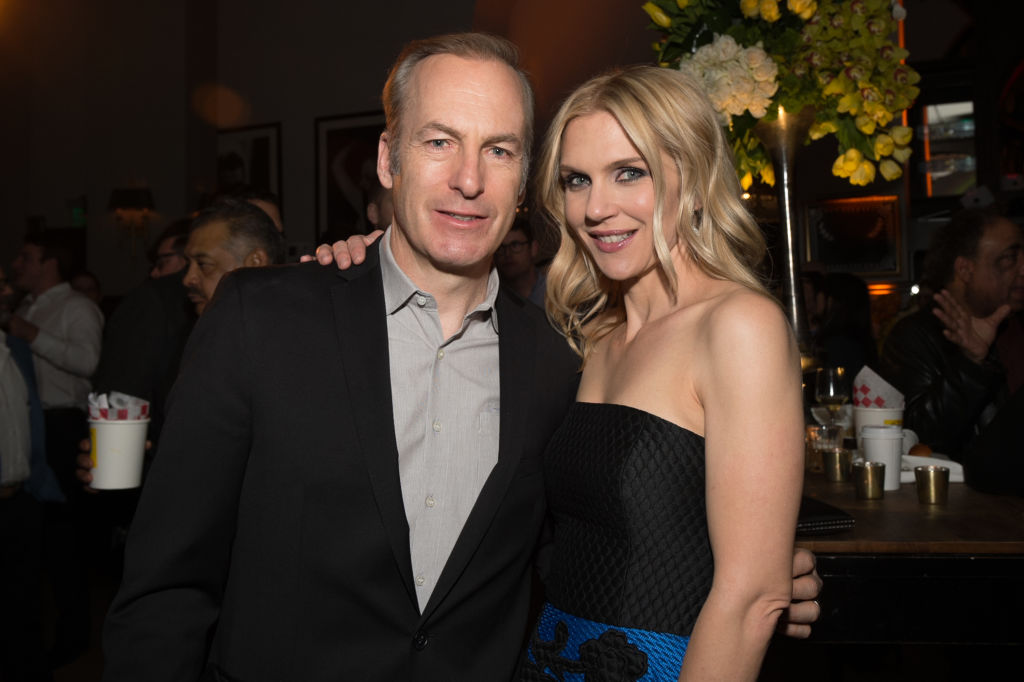 Bob Odenkirk and Rhea Seehorn