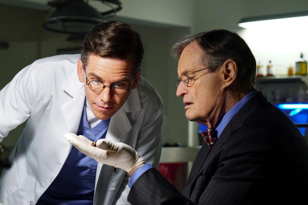 Brian Dietzen and David McCallum | Monty Brinton/CBS via Getty Images