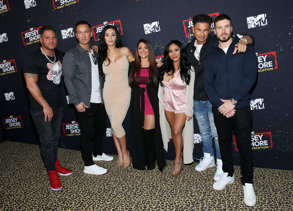 Cast of 'Jersey Shore Family Vacation'