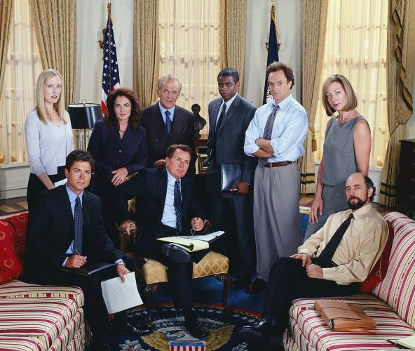 Cast of 'The West Wing' in Season 3