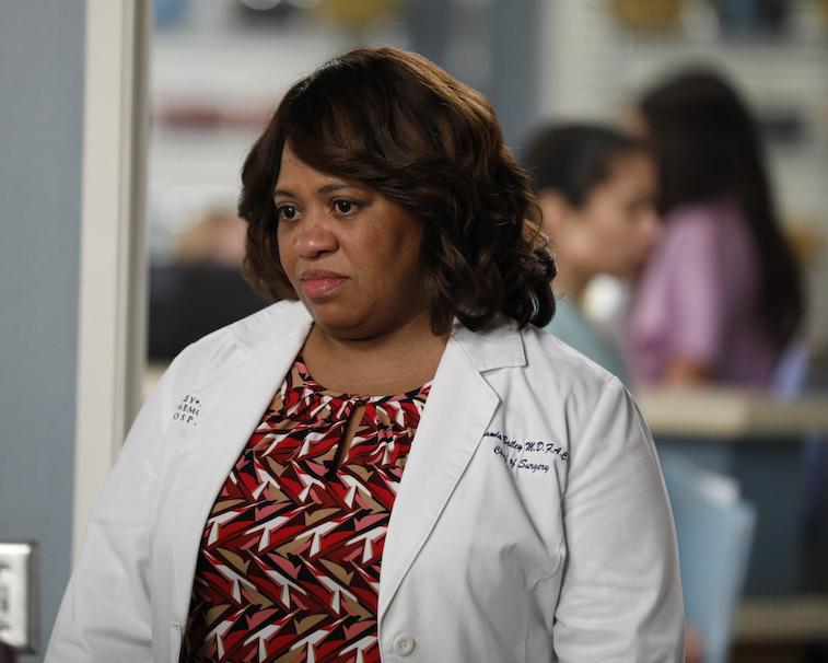 Chandra Wilson on Grey's Anatomy