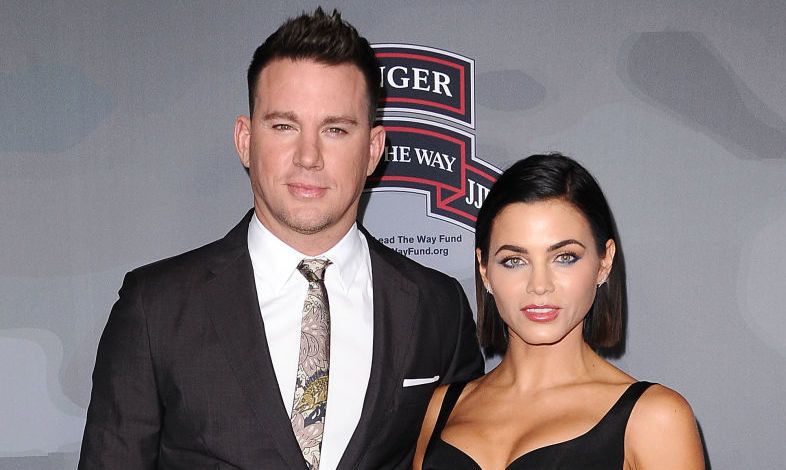 Channing Tatum and Jenna Dewan at an event in 2017
